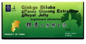 Ginkgo Biloba, Ginseng & Royal Jelly, 10fl*10ml, Naturalia Diet