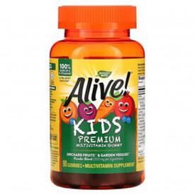 Alive! Kids Premium Multivitamin Gummy, 90jeleuri, Nature's Way