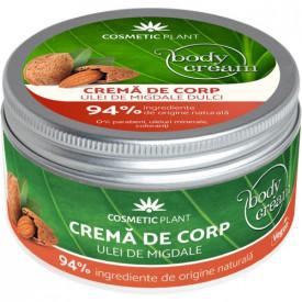 Crema corp cu Ulei de Migdale, 200ml, Cosmetic Plant