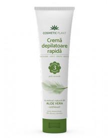 Cremă depilatoare rapidă aloe vera, 150ml, Cosmetic Plant