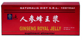Ginseng & Royal Jelly, 10X10ml, Naturalia Diet