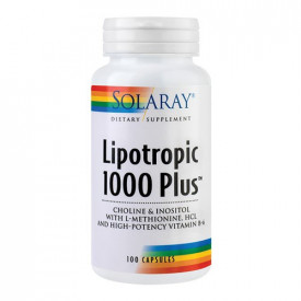 Lipotropic 1000 Plus, 100cps, Solaray