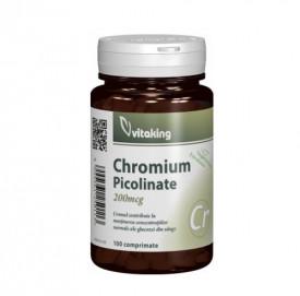 Picolinat de crom 200mcg,100cps, Vitaking
