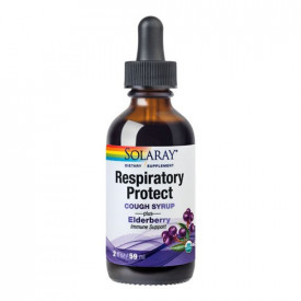 Respiratory Protect Cough Syrup, 59ml, Solaray