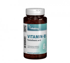 Vitamina B5 (acid pantotenic) 200mg, 90cps, Vitaking