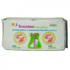 "Absorbante zilnice ""every day"", 40buc, Biointimo"