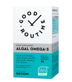 Algal Omega-3, 30cps gelatinoase moi, Good Routine