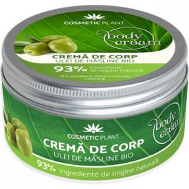 Crema corp cu Ulei de Masline, 200ml, Cosmetic Plant
