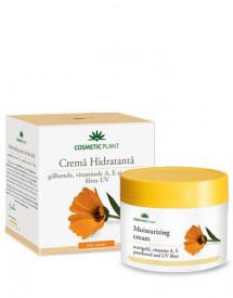 Crema hidratanta galbenele, vitamina A & vitamina E, 50ml, Cosmetic Plant