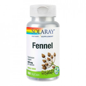 Fennel(Fenicul) 450mg, 100cps, Solaray