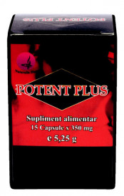 Potent Plus, 15 cps, Naturalia Diet