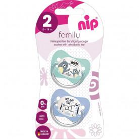 Suzeta Family Silicon marimea 2 (5 - 18 luni), nip 31004, Abi Solutions