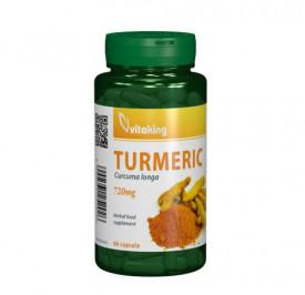 Turmeric (Curcuma) 700mg, 60cps, Vitaking