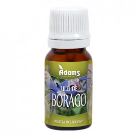 Ulei de Borago (Limba mielului), 10ml, Adams Vision