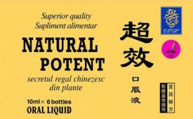 Natural Potent 10ml, 6 fiole, Naturalia Diet