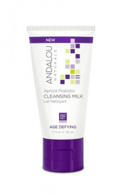 Apricot Probiotic Cleansing Milk, 50ml, Andalou
