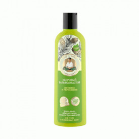 Balsam nutritiv fortifiant cu ulei de cedru si suc de mesteacan, 280ml, Bunica Agafia