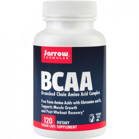 BCAA (Branched Chain Amino Acid Complex), 120 capsule, Jarrow Formulas