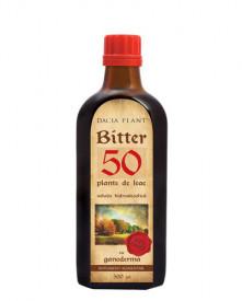 Bitter 50 Plante de Leac cu Ganoderma tinctura, 500ml, Dacia Plant