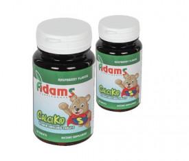 CalciKid, 30cps masticabile, pachet 1+1, Adams Vision