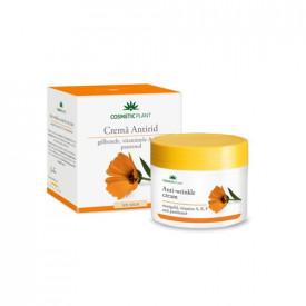 Cremă antirid cu gălbenele&pantenol, 50ml, Cosmetic Plant