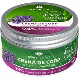 Crema corp cu Ulei de Lavanda, 200ml, Cosmetic Plant