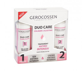 Duo Care tratament antirid intensiv, crema 30 ml + ser 30 ml, Gerocossen