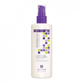 Lavender & Biotin Full Volume Style Spray, 243ml, Andalou