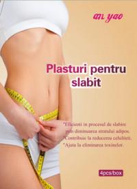 Plasture pentru slabit, 8X8cm, 4buc, Naturalia Diet