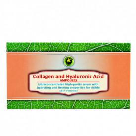 Set fiole Colagen cu Acid Hyaluronic, 12buc, Hypericum