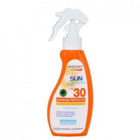 Sun lotiune cu protectie solara SPF 30, spray, 200 ml, Gerocossen Plaja