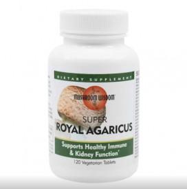 Super Royal Agaricus, 120tab vegetale filmate, Mushroom Wisdom