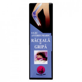 Ulei antireumatic raceala&gripa, 50ml, Naturalia Diet
