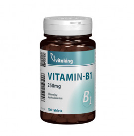Vitamina B1 (tiamina) 250mg, 100cps, Vitaking