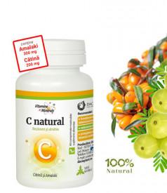 Vitamina C cu Catina&Amalaki, 60cps masticabile, Dacia Plant