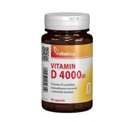 Vitamina D Forte 4000UI, 90cps, Vitaking