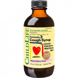 Cough Syrup, 118.50ml (gust de fructe), ChildLife