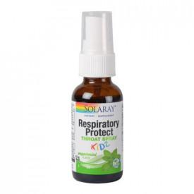 Respiratory Protect Throat Spray KIDZ, 30ml, Solaray