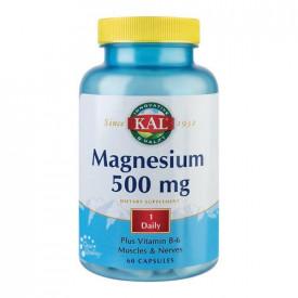 Magneziu 500mg, 60cps, Kal