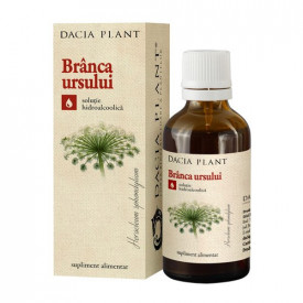 Branca ursului tinctura, 50ml, Dacia Plant