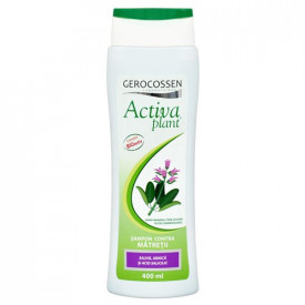 Activa plant sampon contra matretii, 400 ml, Gerocossen