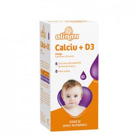 Alinan Calciu+D3, sirop,150ml, Fiterman Pharma