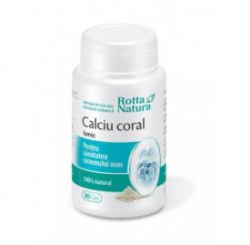 Calciu coral Ionic, 30cps, Rotta Natura