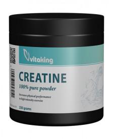 Creatina monohidrata (micronizata), 250g, Vitaking