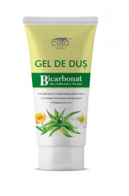 Gel de dus cu Bicarbonat, Aloe, Galbenele si Musetel, 200ml, Ceta Sibiu