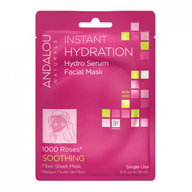 Instant Hydration Hydro Serum Facial Mask, 18ml, Andalou