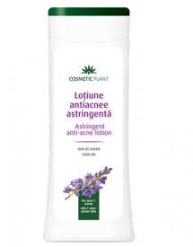 Loţiune antiacnee cu ulei de salvie, 200ml, Cosmetic Plant
