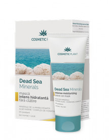 Masca intens hidratanta Dead Sea, 50ml, Cosmetic Plant