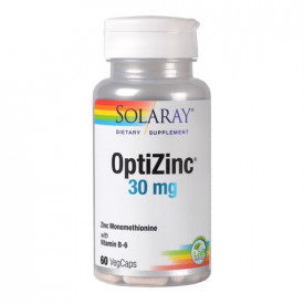OptiZinc 30mg, 60cps, Solaray