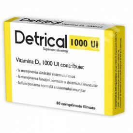 Detrical vitamina D3 1000UI, 60cps, Zdrovit